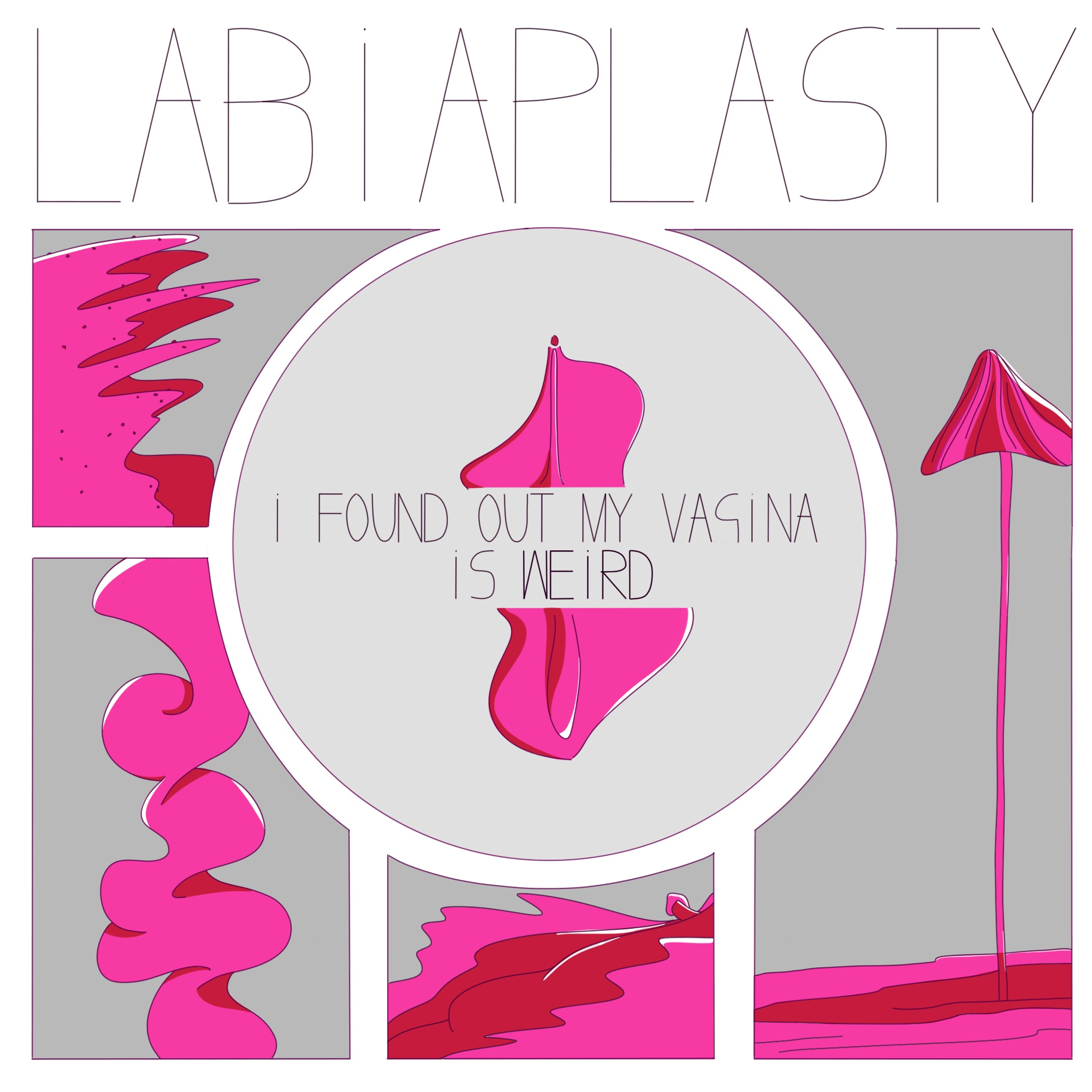 Labiaplasty comic by Rowena Sheehan