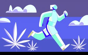 Runner's High. Cannabis for athletes.